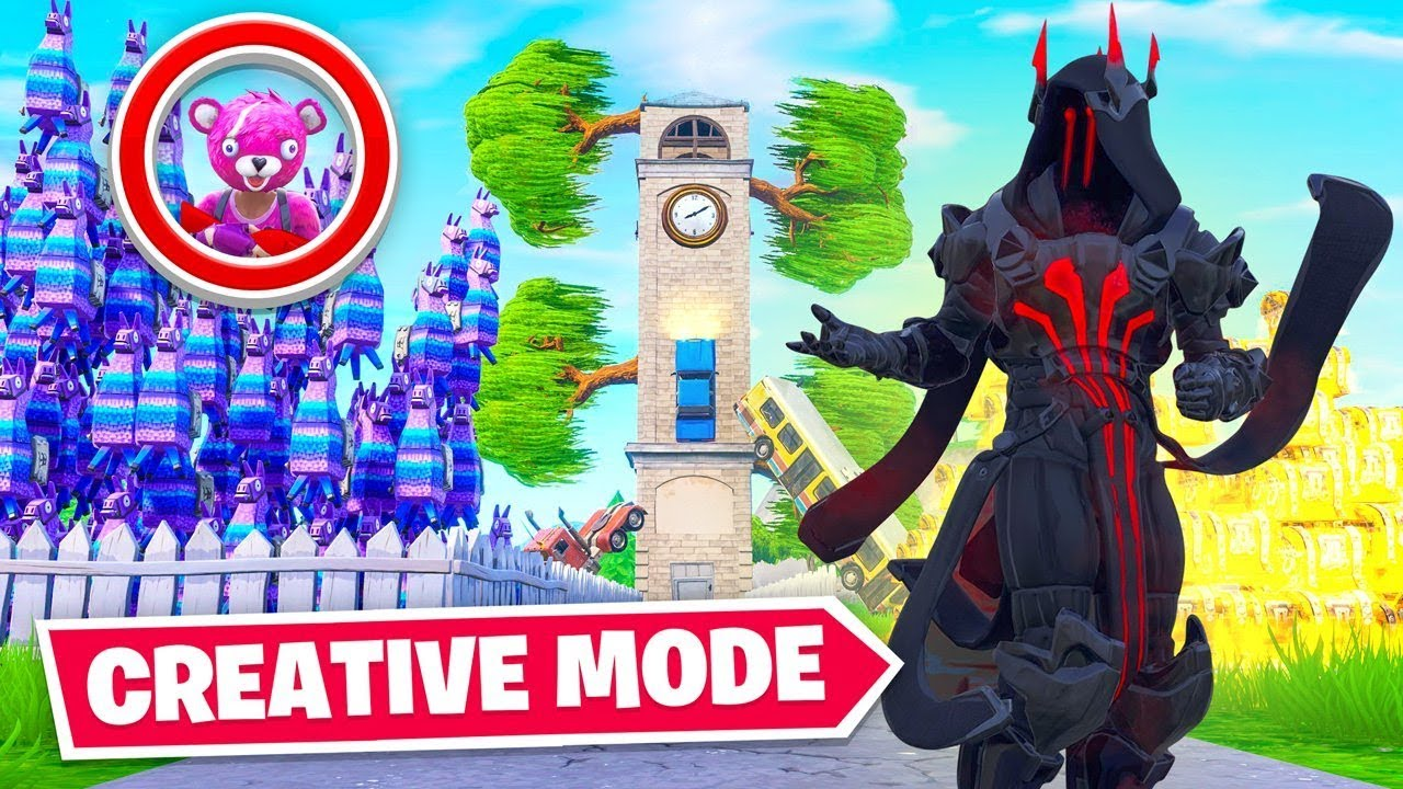 New Creative Mode Hide Seek In Fortnite Youtube