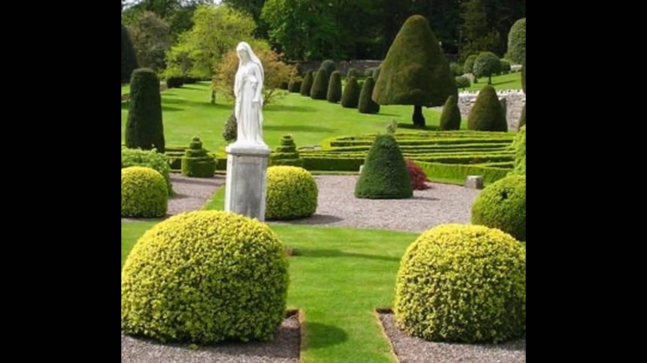 Best formal garden design ideas youtube for Formal garden design