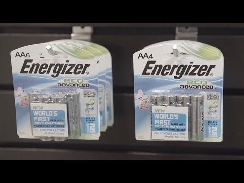 Battery Maker Energizer Betting Big on Environmentally Friendly Batteries