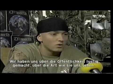 D12 interview - Eminem (Spraight Viva tv)