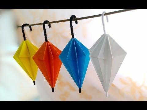 Origami Umbrella / พับกระดาษ เป็นร่ม