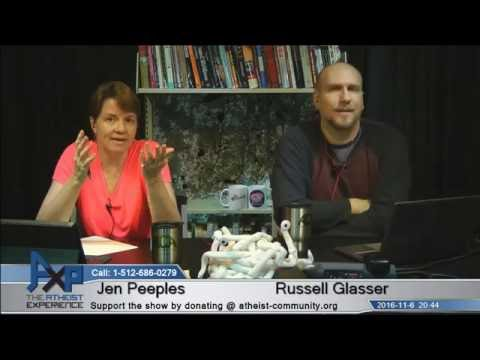 Atheist Experience 20.44 with Russell Glasser and Jen Peeples