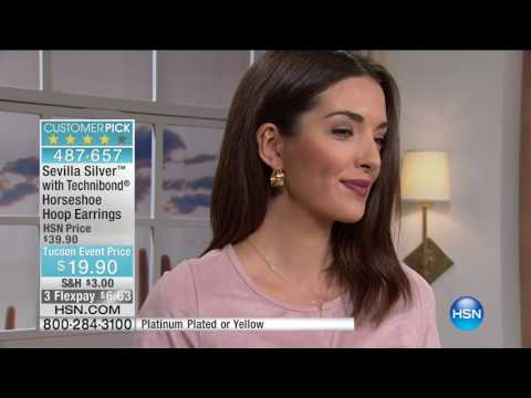 HSN | Sevilla Silver with Technibond Jewelry 02.13.2017 - 02 PM