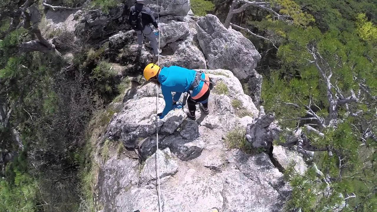 Mödlinger Klettersteig : Mödlinger klettersteig  youtube