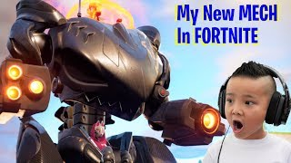 MY NEW MECH Robot In Fortnite Season 10  CKN Gaming