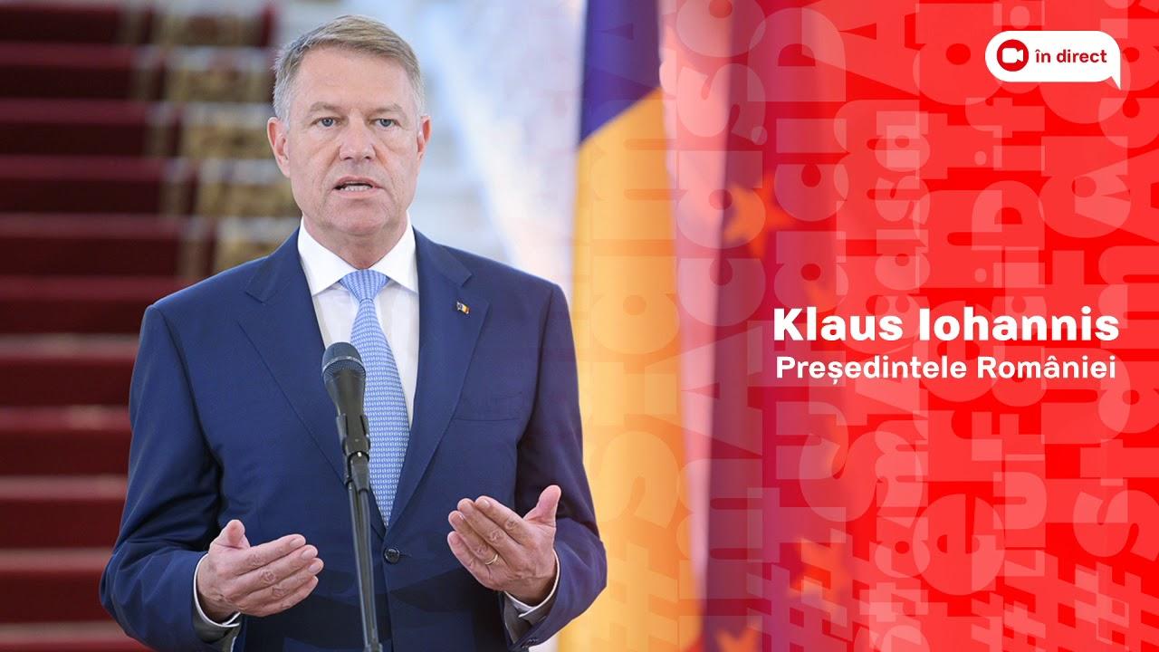 Ediție Specială Europa FM: Declaraţia preşedintelui Klaus Iohannis