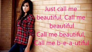 B-e-a-utiful- Megan Nicole (Original Song) (lyrics)