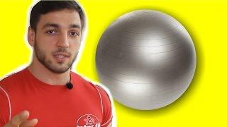 Комплекс упражнений на фитболе для всего тела