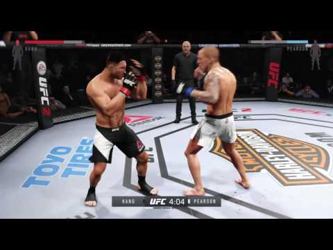 UFC2 Liu Kang created test fight