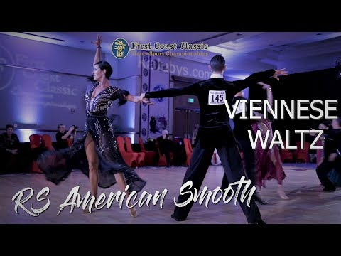 Viennese Waltz I RS American Smooth I First Coast 2019
