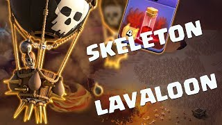 5 Skeleton Spell + LaLoon: TH9 Th10 Th11 STRONG WAR ATTACK STRATEGY 2018 | LarryLalo Clash of Clans
