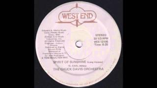 The Chuck Davis Orchestra - The Spirit Of Sunshine