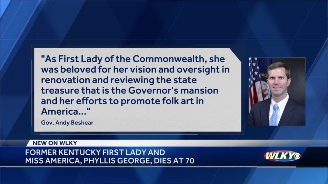 Phyllis George, former Kentucky first lady and Miss America, dies at 70
