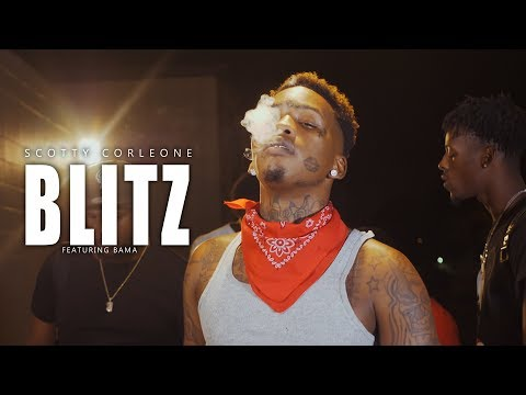Scotty Cain - Blitz Feat. Bama | Official Music Video | aka Scotty Corleone | TWONESHOTTHAT™