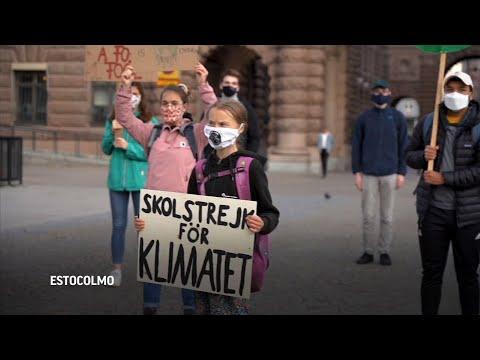 Associated Press: Greta Thunberg encabeza protesta contra el cambio climático