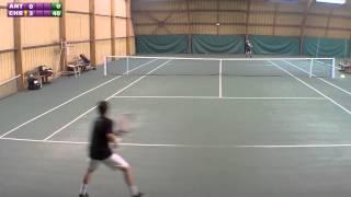 Christophe (5/6) vs Antoine (12 ans 15/1) - Match - 22/09/2013