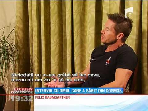 Interviu cu Felix Baumgartner, primul om care a sărit din cosmos