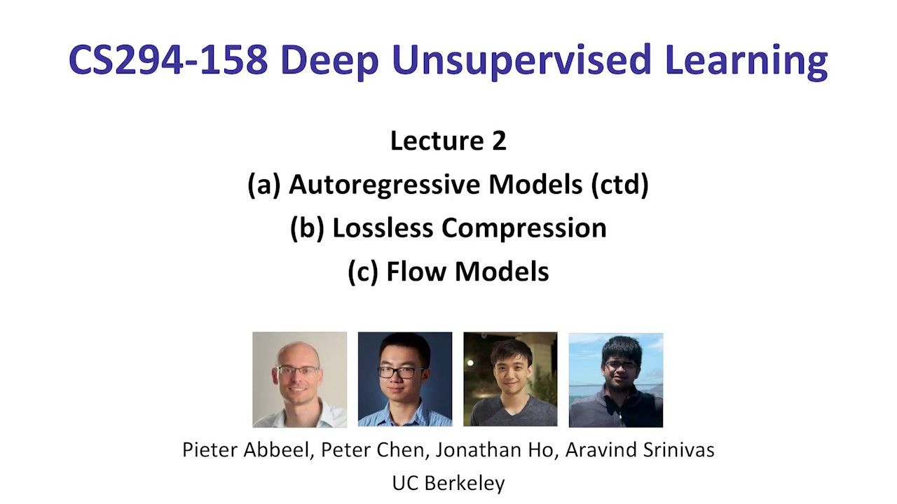 Week 2 CS294-158 Deep Unsupervised Learning (2619) with