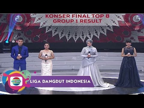 Highlight Liga Dangdut Indonesia - Konser Final Top 8 Group 1 Result INDOSIAR