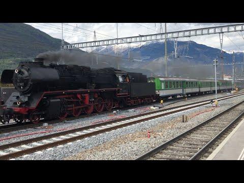 [FR/DE] Re6/6 + BR 50 3673 (Verbano Express), Re474 + Ae6/6 + ÖBB 1020 - TPS