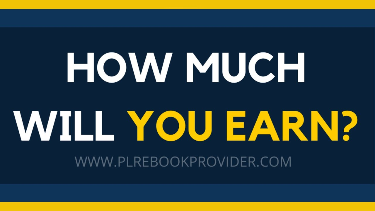 Should you create a PLR website? How much can you make selling PLR products? (PLR eBook Business)