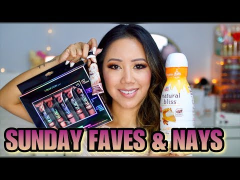 Weekly Beauty Favorites! Sunday Faves & Nays - Bath & Body Works, Natural Bliss,  Five Below thumbnail