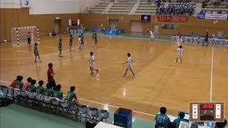 2019年IH ハンドボール 女子 3回戦 不来方(岩手)VS 大分(大分)