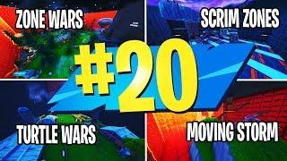TOP 20 melhores mapas SCRIM em Fortnite Creative | Zone Wars & Turtle Wars & Storm | CÓDIGOS DE MAPA CRIATIVOS