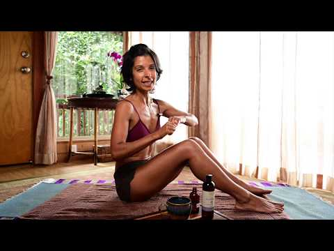 Ayurvedic Self-Massage, EP10 Ayurvedic Lifestyle Tips with Lala Naidu
