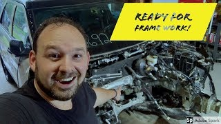 Rebuilding A Wrecked 2017 Ford Police Interceptor Utility - Part 4