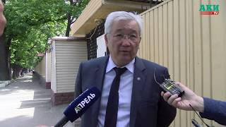 Кубанычбек Кулматов вышел после допроса в ГКНБ