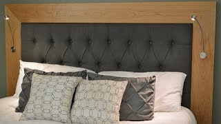 Heres How I Build a Tufted Headboard, Woodworking and Upholstry