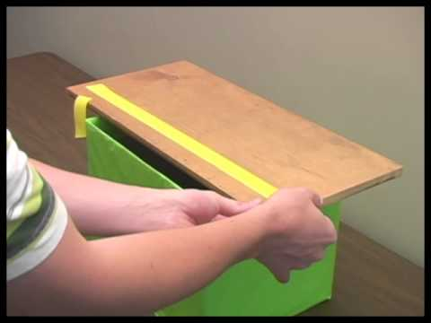 How to make a Sticky Tape Testing Apparatus