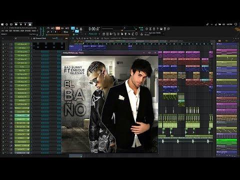 Enrique Iglesias feat. Bad Bunny - EL BAÑO Instrumental Flp