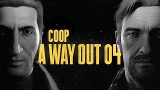 A Way Out (PL) #4 - Ścigani (Gameplay PL)
