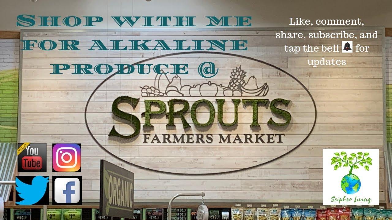 Sprouts Farmers Market Trip | Alkaline Living