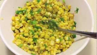 How To Make Sauteed Corn With Scallion Oil - Natalie's Creations