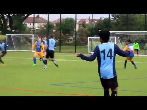 Raine's 6th Form vs Newvic Football Friendly REMATCH