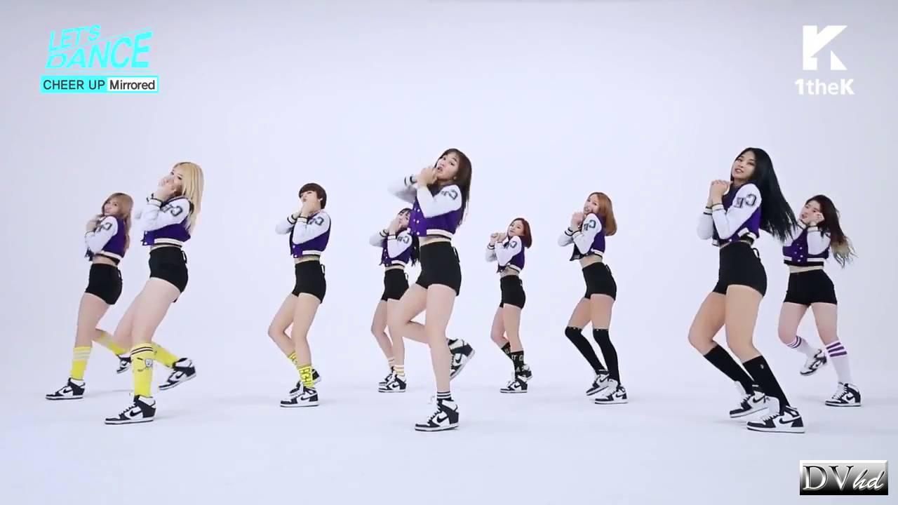 Twice Cheer Up mirrored choreography - YouTube