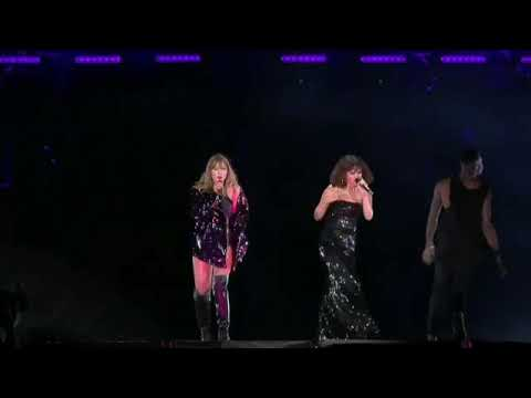 Taylor Swift Feat. Selena Gomez - Hands To Myself live Reputation Tour