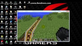 Belajar Membuat Jalan kereta api di Mincefraf =-{pemula-=}