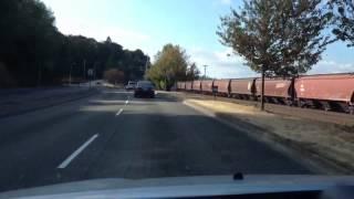 Driving inside tacoma wa