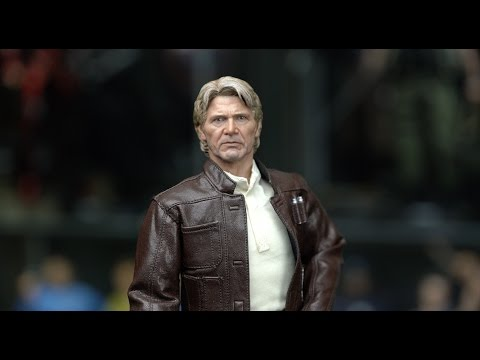 Hot Toys Force Awakens Han Solo 1/6 Scale Figure