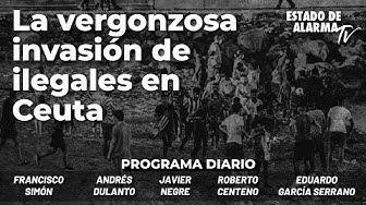 Imagen del video: La vergonzosa invasión de ilegales en Ceuta; con Javier Negre