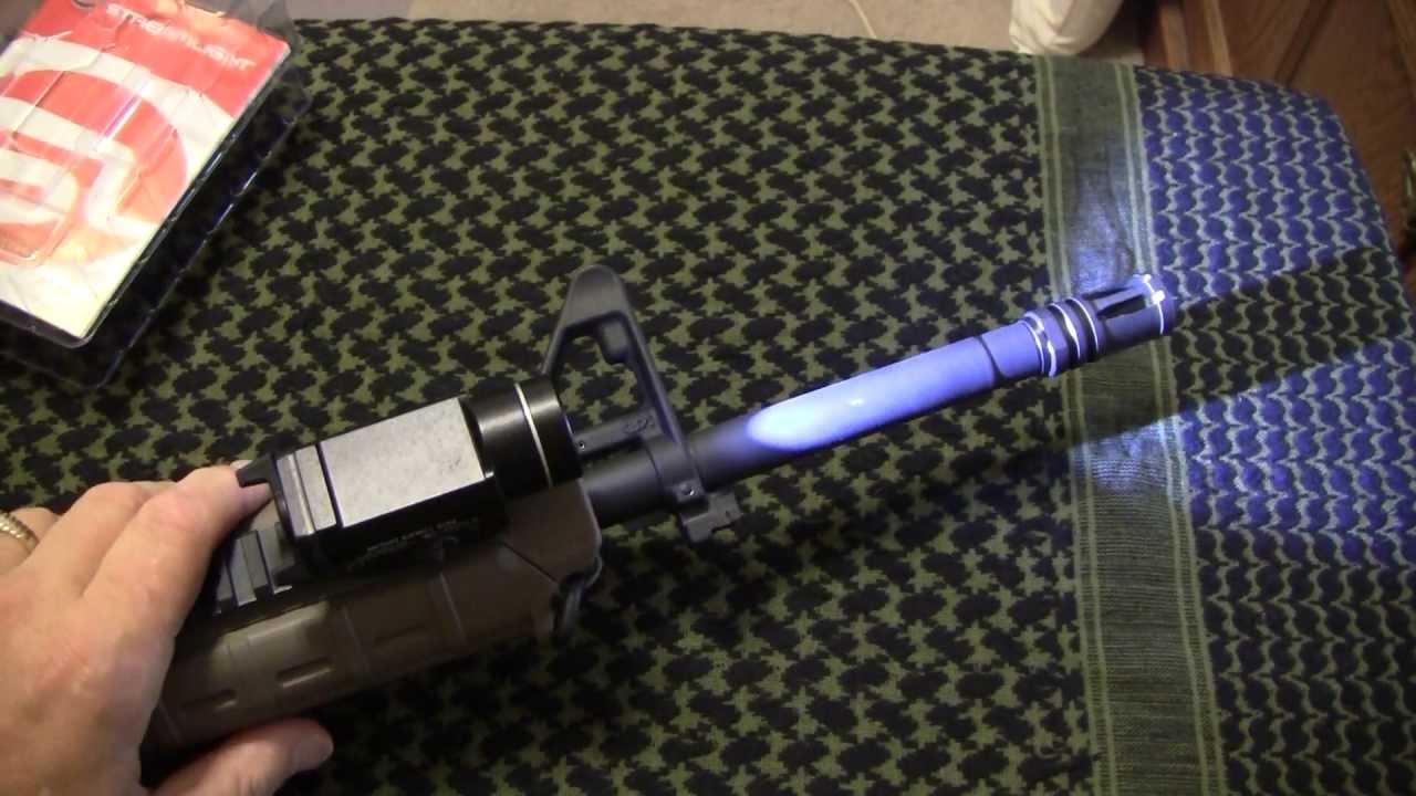 Streamlight TLR-1s Tactical Rail Mount Light - YouTube 249e8b5b2370