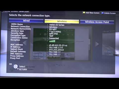 How to Configure a Panasonic TV With Unlocator