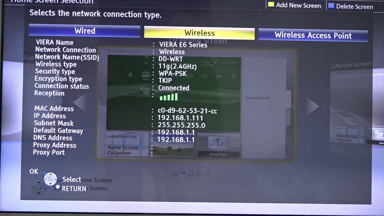How to Setup Panasonic Viera - Unlocator Support