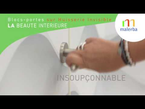 Le Nouveau BlocPorte  Huisserie Invisible   Youtube