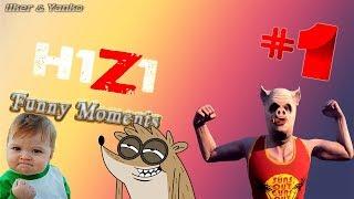 H1Z1 King of the Kill Funny Moments 1 [BG]