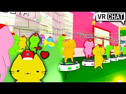 Trolling the Cat Band!   VRChat (Cat Parade)